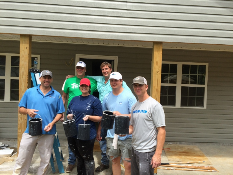 KW Plastics Painting Day | Troy-Pike Habitat for Humanity